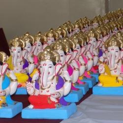 Ganesh Idol Stall